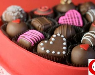 شکلات ولنتاین لاتامارکو
