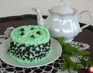 کیک نعنایی لاتامارکو