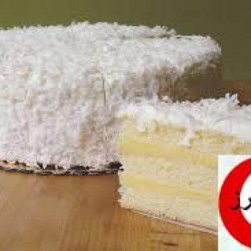 کیک نارگیلی لاتامکارکو