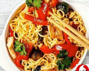 فروش نودل گوجه فرنگی لاتامارکو ترکیه