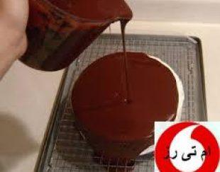 کیک با سس شکلات لاتامارکو