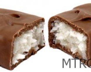 شکلات با مغز نارگیل لاتامارکو