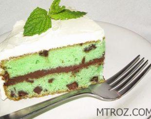 کیک با طعم نعناع در لاتامارکو