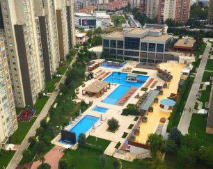 فروش واحد ۱۰۷ متری در یکی از بهترین رزیدانس های استانبول