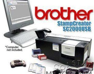 فروش دستگاه مهرسازی لیزری brother