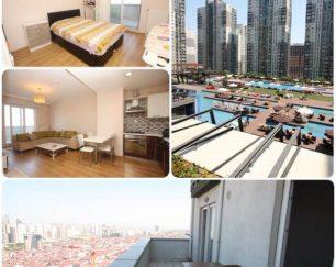 اجاره واحد مسکونی یک خوابه با قیمت مناسب در استانبول