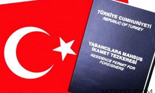 مراحل اجازه اقامت در ترکیه ام تی رز