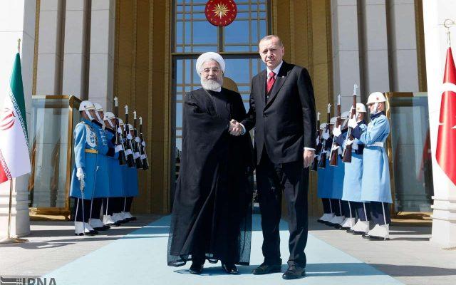 اردوغان با روحانی دیدار کرد