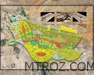 فروش زمین در فاز یک خاوران قطعه p/2942