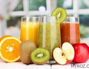 آب میوه های حاوی پالپ (تکه های میوه) NeNe