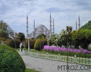 ترکیه کشوری با چند آب و هوای متفاوت…