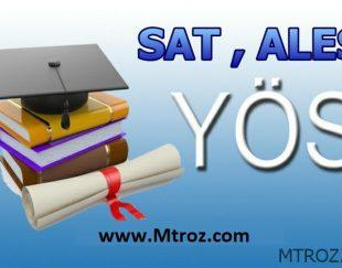 آزمون یا امتحان YOS و SAT ترکیه