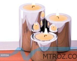 شمعدان سه پارچه