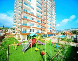 آپارتمان ساحلی نوساز در آلانیا, محمودلار, ترکیه
