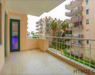 آپارتمان سه اتاقه در۵۰ متری پلاژ آلانیا, محمودلار, ترکیه