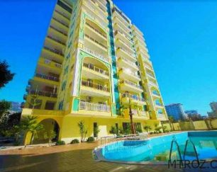 آپارتمان ۲ اتاقه نوساز ساحلی ویژه تعطیلات خانوادگی در پلاژ محمودلار, آلانیا, ترکیه