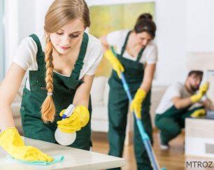 شرکت خدماتی نظافت منزل