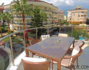 آپارتمان ۳ اتاقه  ۱۱۰ متری در آلانیا – توسمور, ترکیه