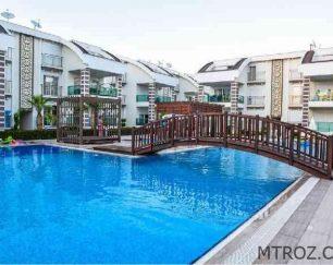 آپارتمان دو خوابه ساحلی در منطقه گلف سیده, ترکیه