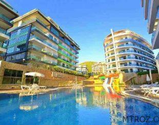 آپارتمان یک خوابه با چشم انداز دریا درآلانیا, کارگیجاک, ترکیه