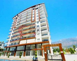 آپارتمان ساحلی مبلمان ۹۵ متری درآلانیا, ترکیه