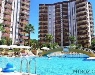 آپارتمان دو خوابه ساحلی در آلانیا, محمودلار, ترکیه