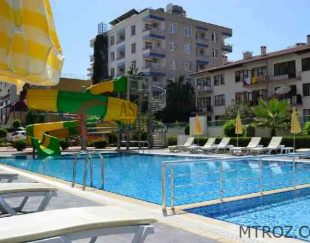 آپارتمان یک خوابه با چشم انداز دریا درآلانیا, محمودلار, ترکیه