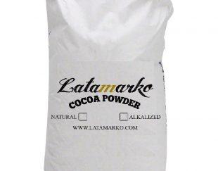 مراحل تولید پودر کاکائو لاتامارکو ترکیه