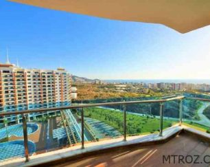آپارتمان نوساز در منطقه توریستی ۵ ستاره محمودلار, آلانیا ترکیه