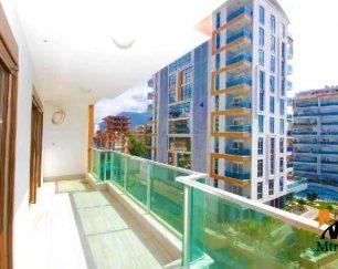 آپارتمان نوساز در یک مجتمع مسکونی خوب در مرکز توسمور, آلانیا, ترکیه