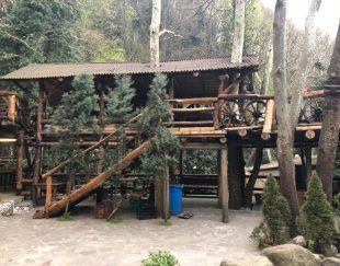 فروش رستوران چوبي در استانبول همراه مكان اقامتي