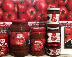 صادرات رب گوجه فرنگي هليسا