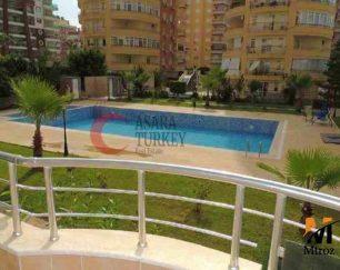 آپارتمان مبلمان ساحلی دو خوابه در آلانیا, ترکیه