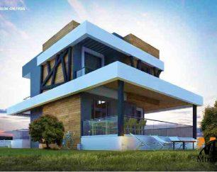 ویلای مدرن ساحلی نوساز در منطقه چشمه, ازمیر, ترکیه