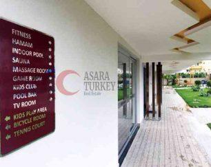 آپارتمان شیک ساحلی در مرکز محمودلار, آلانیا, ترکیه