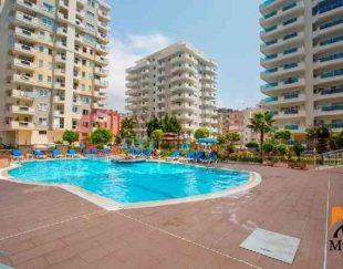 آپارتمان مبلمان, ساحلی با چشم انداز دریا آلانیا, ترکیه