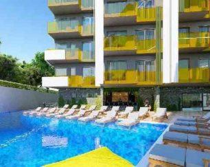 آپارتمان نوساز ساحلی در پلاژ کلئوپاترا آلانیا, ترکیه