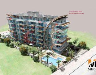 آپارتمان در پروژه جدید در۲۰ متری ساحل کستل, آلانیا, ترکیه