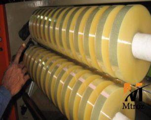تولید نوار چسب بسته بندی کارتن