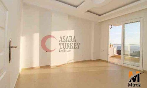 آپارتمان زیبای ساحلی منظره دریا در آلانیا, محمودلار, ترکیه