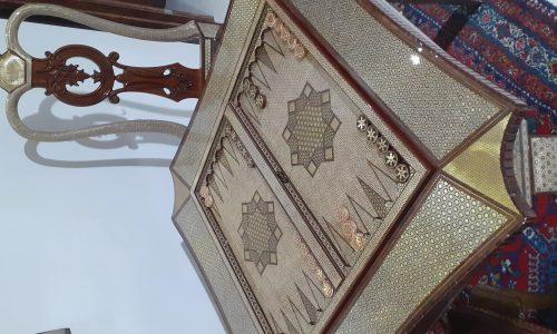 Desk Chess and backgammon