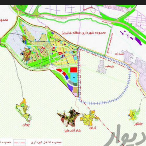فروش زمین ویلایی در خاوران تبریز