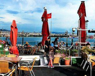 وزير كافه ارائه غذای ایرانی در استانبول