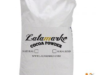فروش عمده پودر کاکائو لاتامارکو latamarko