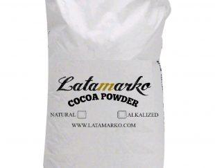 پودر کاکائو نچرال و آلکالایز محصول لاتامارکو