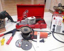 فروش ابزارالات جوش کاری و لوله کشی
