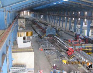 راه اندازی کارخانه ارماتور میلگرد تا ۶۰۰٫۰۰۰ تن سالیانه از ساز ۸ تا ۴۰