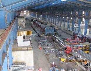 راه اندازی کارخانه ارماتور میلگرد تا 600.000 تن سالیانه از ساز 8 تا 40