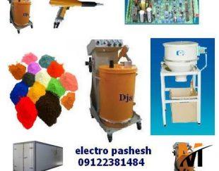 قیمت و خدمات دستگاه های پاشش رنگ پودری الکترواستاتیک