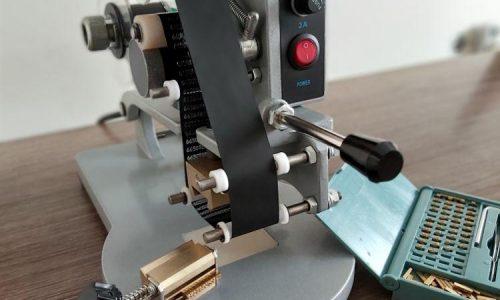 دستگاه تاریخ زن دستی تمام اتوماتیک صنعتی